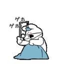 すこぶる動くウサギ【冬】(個別スタンプ:6)