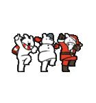 すこぶる動くウサギ【冬】(個別スタンプ:12)