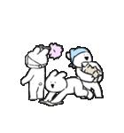 すこぶる動くウサギ【冬】(個別スタンプ:16)