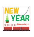 赤鼻のアザラシ(クリスマス&正月:年末年始)(個別スタンプ:16)