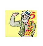 動く「アルプスの少女ハイジ」ちゃらおんじ(個別スタンプ:08)