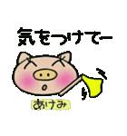 ちょ~便利![あけみ]のスタンプ!(個別スタンプ:29)
