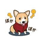 気軽にスタンプ コーギー 冬編(個別スタンプ:05)