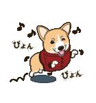 気軽にスタンプ コーギー 冬編(個別スタンプ:06)