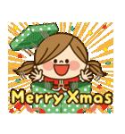 かわいい主婦の1日【クリスマス&正月編】(個別スタンプ:07)