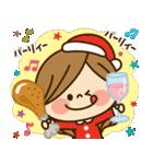 かわいい主婦の1日【クリスマス&正月編】(個別スタンプ:08)