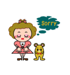DOLLY DOLLY 3 (ENGLISH)(個別スタンプ:12)