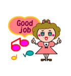 DOLLY DOLLY 3 (ENGLISH)(個別スタンプ:13)