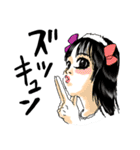 感情メイクアップ<ホント編>(個別スタンプ:01)