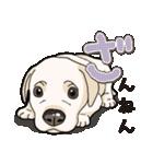 ばな菜のラブラドール仔犬(個別スタンプ:06)