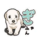 ばな菜のラブラドール仔犬(個別スタンプ:10)