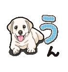 ばな菜のラブラドール仔犬(個別スタンプ:32)