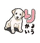 ばな菜のラブラドール仔犬(個別スタンプ:40)