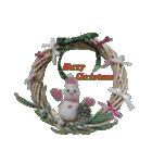 羊毛フェルトペンペンシリーズ クリスマス(個別スタンプ:15)