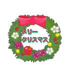 羊毛フェルトペンペンシリーズ クリスマス(個別スタンプ:16)