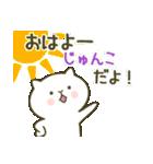 あいあむ じゅんこ【40個の名前スタンプ】(個別スタンプ:15)