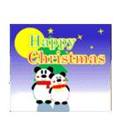 パンダの冬(年末年始:クリスマス&正月)(個別スタンプ:2)