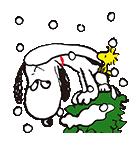 スヌーピー 冬のポップアップ(個別スタンプ:20)