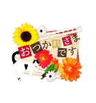 動くねこ!誕生日&毎日言葉&イベント(個別スタンプ:11)