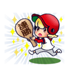 100% 赤ヘル 4【やや広島弁編】(個別スタンプ:9)