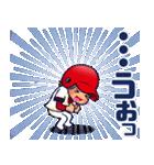 100% 赤ヘル 4【やや広島弁編】(個別スタンプ:21)