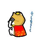 暇ネコ2(王様)(個別スタンプ:24)