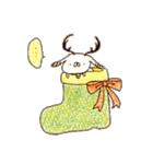 【限定】うさぎ帝国のクリスマス(個別スタンプ:09)