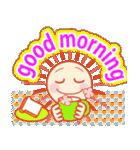 「おはよう」天気で挨拶 冬編(個別スタンプ:03)