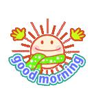 「おはよう」天気で挨拶 冬編(個別スタンプ:05)