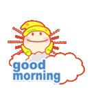 「おはよう」天気で挨拶 冬編(個別スタンプ:07)