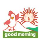 「おはよう」天気で挨拶 冬編(個別スタンプ:08)