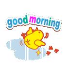 「おはよう」天気で挨拶 冬編(個別スタンプ:23)