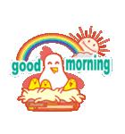 「おはよう」天気で挨拶 冬編(個別スタンプ:27)