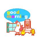 「おはよう」天気で挨拶 冬編(個別スタンプ:28)