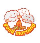 「おはよう」天気で挨拶 冬編(個別スタンプ:35)