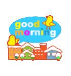 「おはよう」天気で挨拶 冬編(個別スタンプ:36)