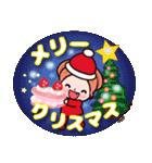 かずこ7毎年使える年賀状!正月 クリスマス(個別スタンプ:25)