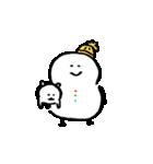 自分ツッコミくま 冬(個別スタンプ:36)