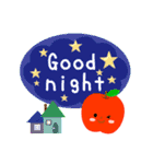 RED&GREEN☆リンゴの日常カジュアルセット(個別スタンプ:3)