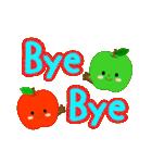 RED&GREEN☆リンゴの日常カジュアルセット(個別スタンプ:4)