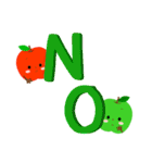RED&GREEN☆リンゴの日常カジュアルセット(個別スタンプ:16)