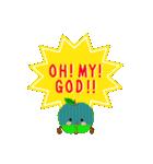RED&GREEN☆リンゴの日常カジュアルセット(個別スタンプ:18)