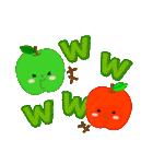 RED&GREEN☆リンゴの日常カジュアルセット(個別スタンプ:24)