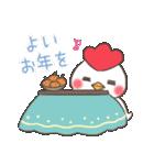 ゆるゆるニワトリ【冬&年末年始編】(個別スタンプ:29)