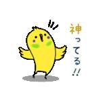 すこぶるインコちゃん【冬とイベント】(個別スタンプ:14)
