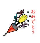 すこぶるインコちゃん【冬とイベント】(個別スタンプ:25)