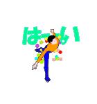 ▶動くフィギュアスケート男子アニメ(個別スタンプ:08)