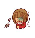 にこにこ!おかっぱちゃん(冬)(個別スタンプ:31)