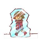 にこにこ!おかっぱちゃん(冬)(個別スタンプ:32)