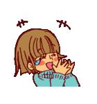 にこにこ!おかっぱちゃん(冬)(個別スタンプ:38)